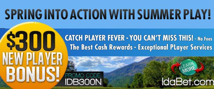 300 summer new player bonus